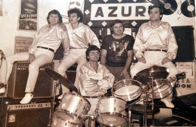 The Romanian band Azur. Photo: Nelu Vlad