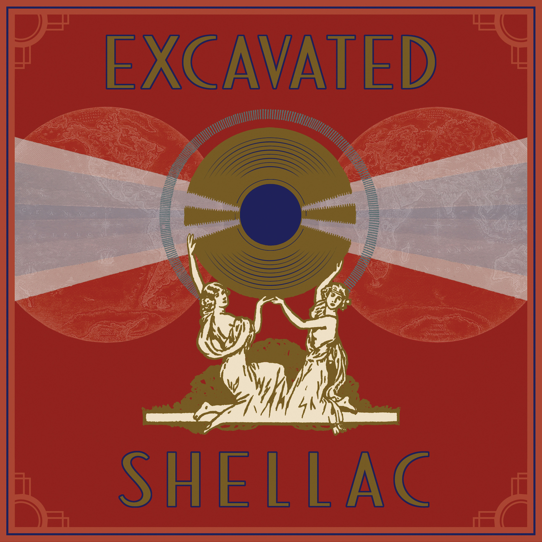 Excavated Shellac cover
