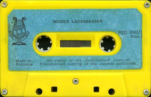 Romica Puceanu, Gabi Luncă - Muzică lăutărească casette tape, Electrecord, 1977 (source: Discogs)