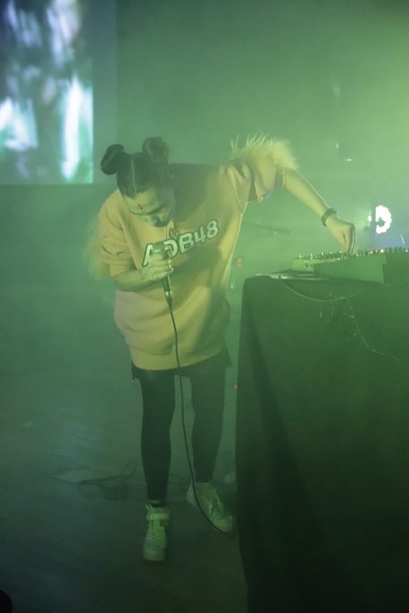 Aisha Devi live at MIRA Festival Berlin 2018. © Xarlene Visuals