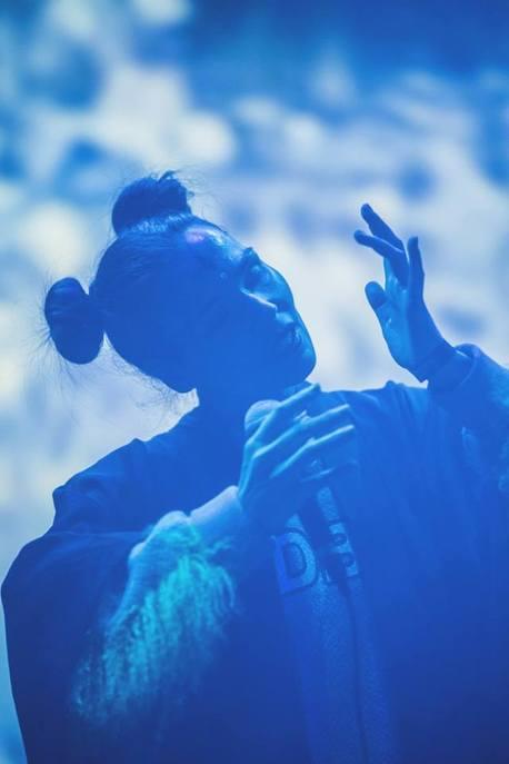 Aisha Devi live at MIRA Festival Berlin 2018. © Anna Wyszomierska Photography