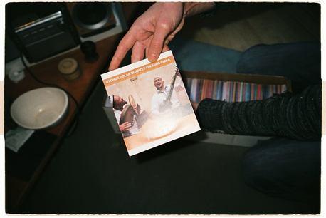 Laurent Jeanneau's music collection. Photo by Aurel Minulescu
