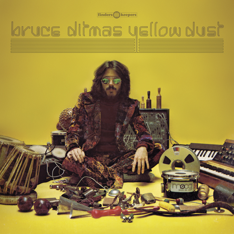 Bruce Ditmas reissued on Finders Keepers