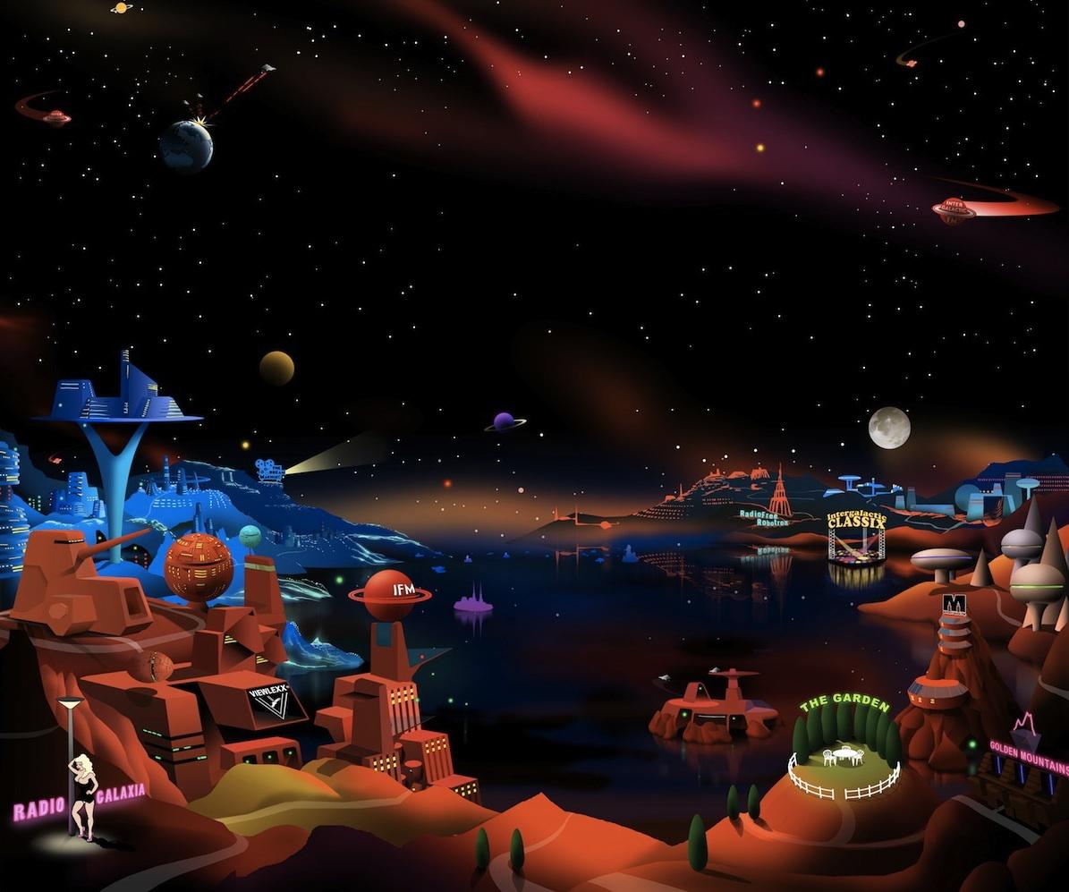 The Attic on Intergalactic FM (IFM 5 - The Garden)