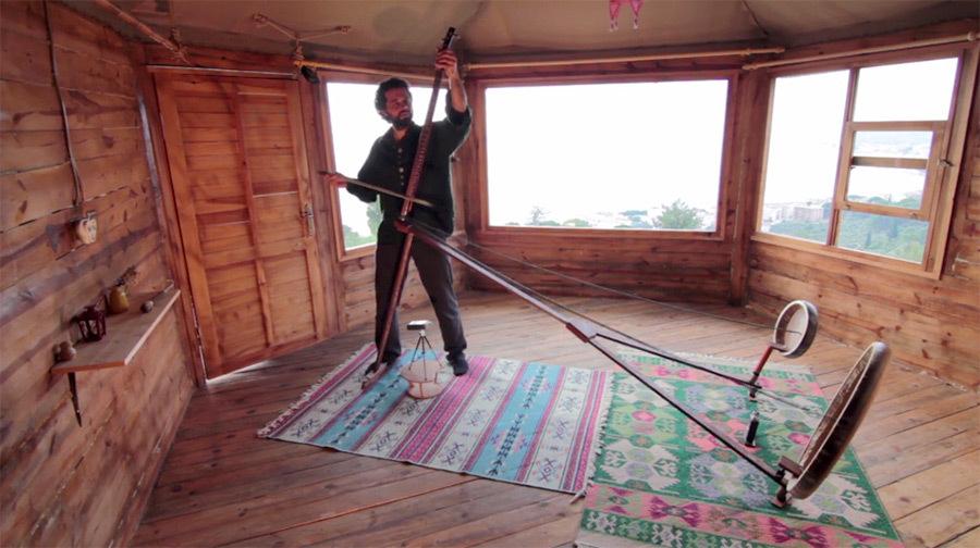 Yaybahar - a new acoustic instrument