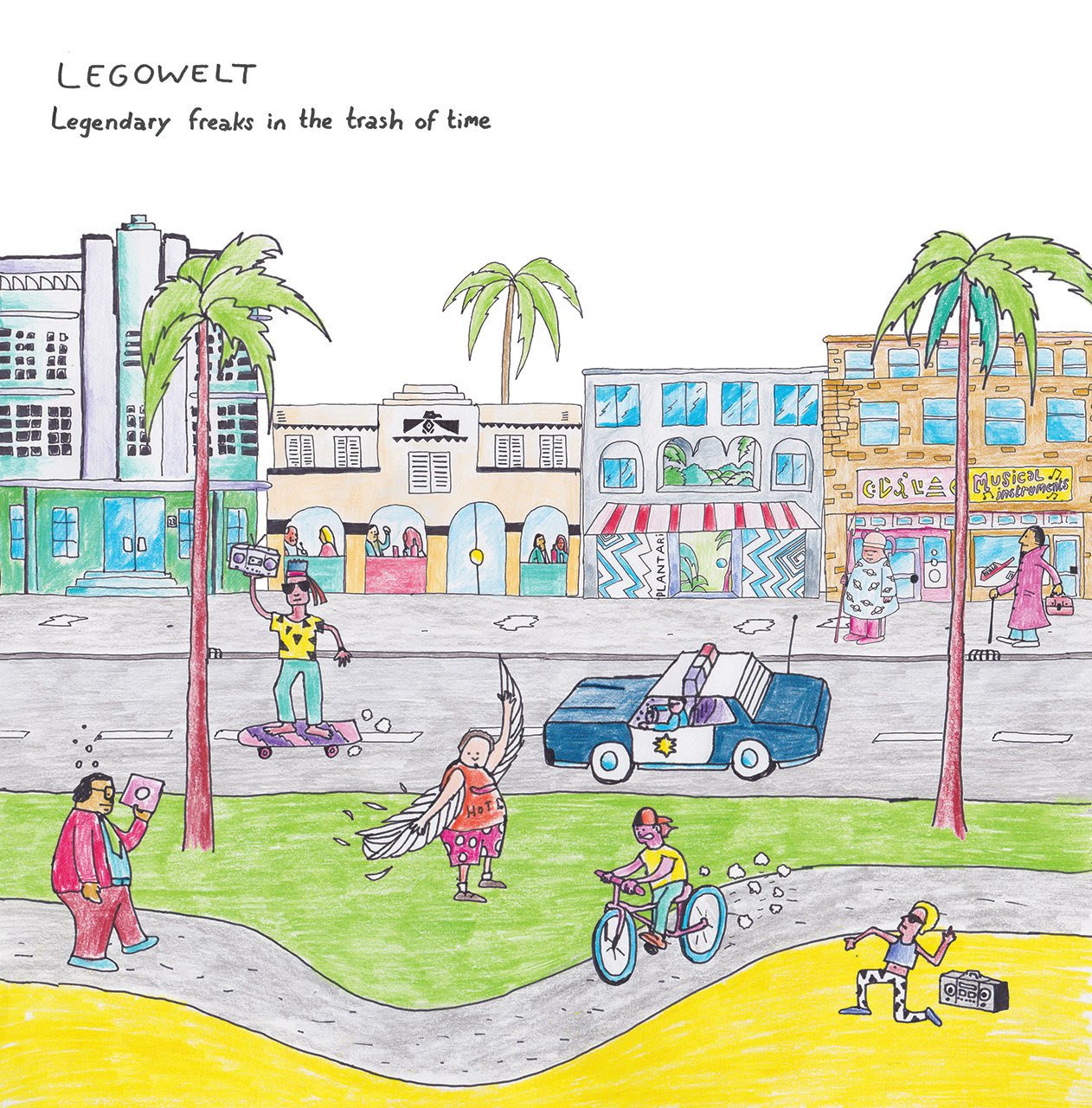 Legowelt announces Legendary Freaks In The Trash Of Time album and tour