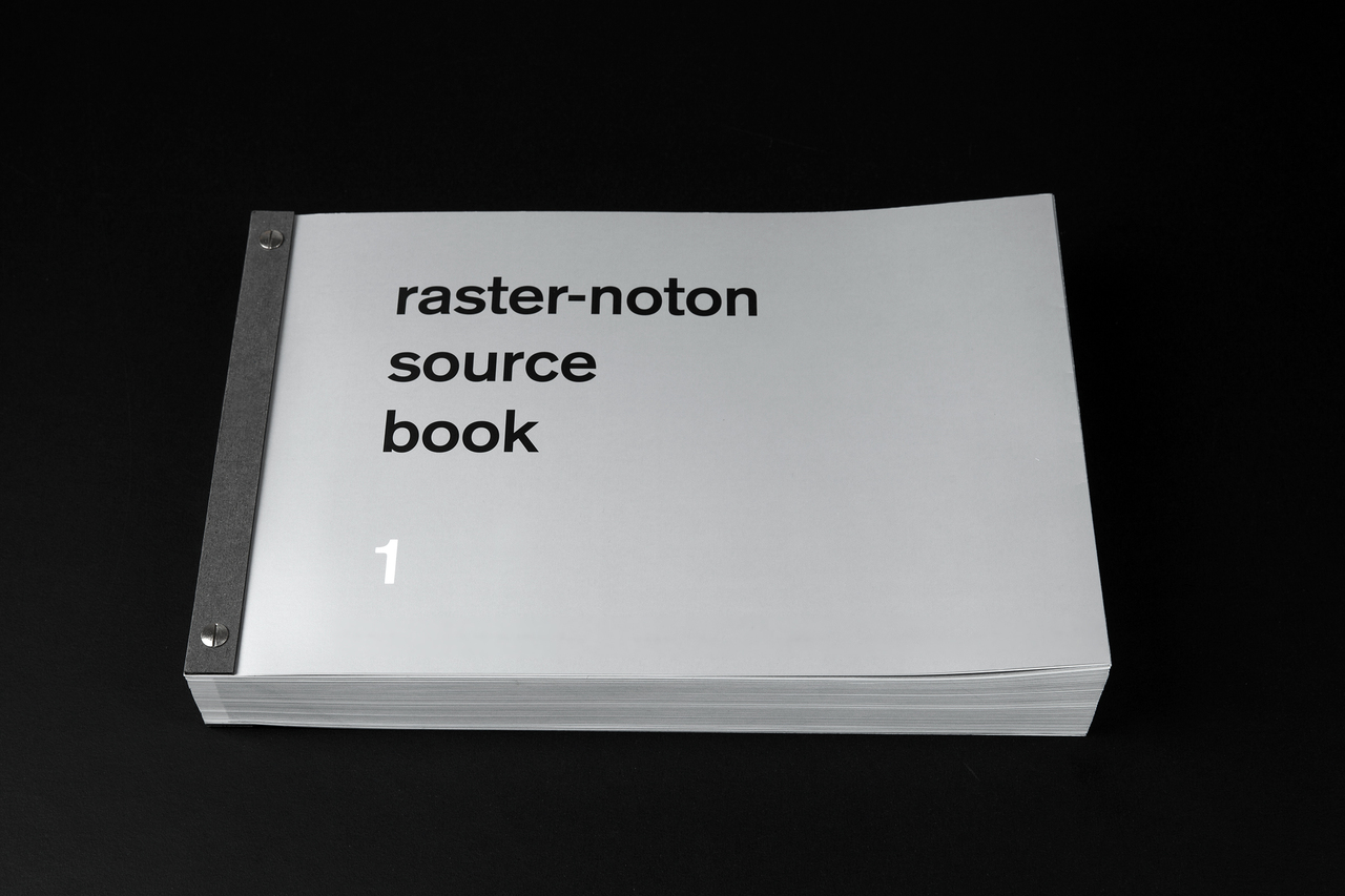 Raster Noton celebrates 20 years with source book 1