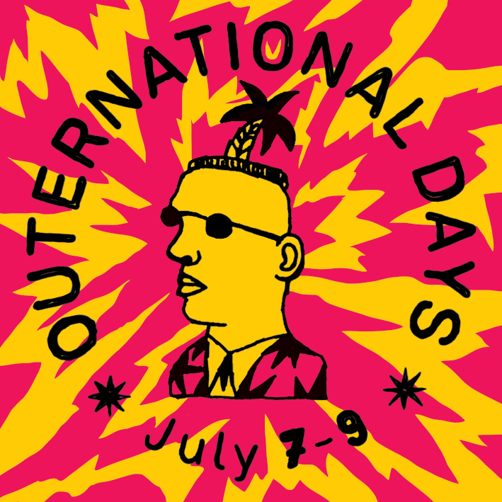 The second wave of confirmed artists at Outernational Days 2