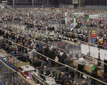 The biggest record fair takes place in Utrecht, The Netherlands