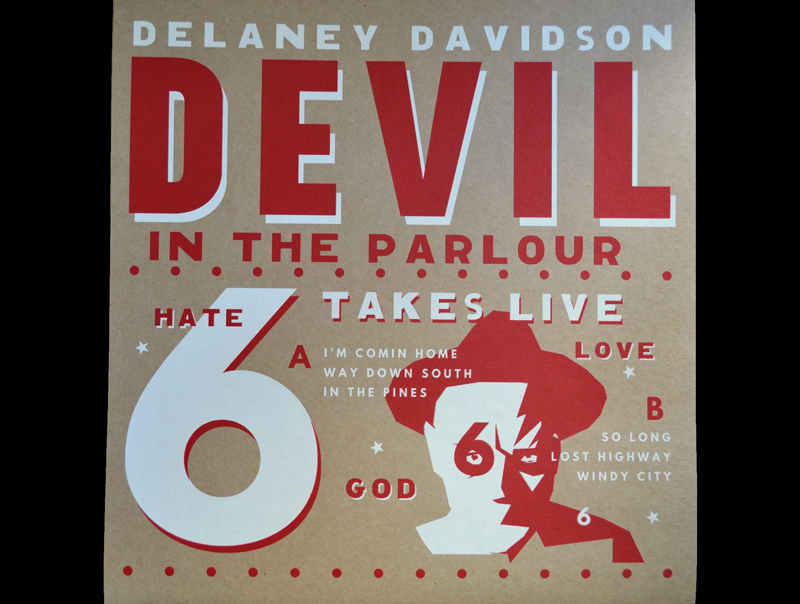 Delaney Davidson - Devil In The Parlour